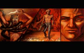 Cut Scene. Gabriel infiltrates a secret voodoo ritual.
