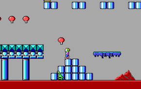 From the first level of Episode 1: Marooned on Mars. The was also the sharware episode of the game.