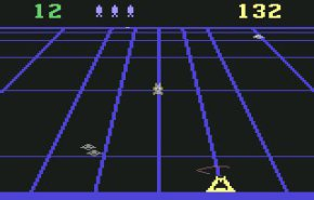 Beamrider. One of the games included in Activision's Commodore 64 15 Pack.