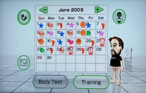 Wit Fit, my progress for June 2008